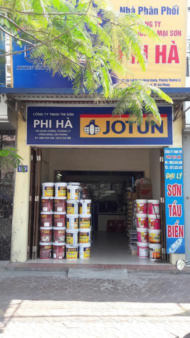 CÔNG TY TNHH TM SƠN PHI HA 140 Đường Hùng Vương,Thượng Lý, Hồng Bàng, HP